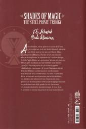 Verso de Shades of Magic -2- Night of Knives
