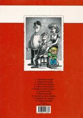 Verso de Cédric -1a1996- Premières classes