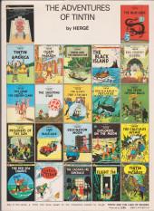 Verso de Tintin (The Adventures of) - Tintin's moon Adventure