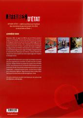 Verso de Affaires d'Etat - Guerre Froide -1- Passage à l'ouest