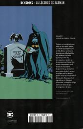 Verso de DC Comics - La légende de Batman -9393- Un long Halloween - 2ème partie