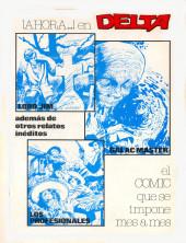 Verso de Dossier Negro -153- Nekradamus/Distrito 56