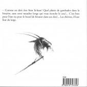 Verso de La chèvre de Monsieur Seguin (Deschamps)