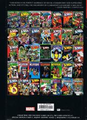 Verso de X-Men Vol.1 (The Uncanny) (Marvel comics - 1963) -OMNIb- The Uncanny X-Men Omnibus volume 3