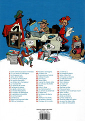Verso de Spirou et Fantasio -1e2018- 4 aventures de Spirou...et Fantasio