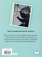 Verso de Ninja malgré moi