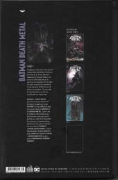 Verso de Batman : Death Metal -3TL- Tome 3