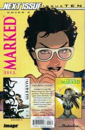 Verso de The marked Vol.1 (Image Comics - 2019) -9- Issue # 9