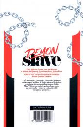Verso de Demon Slave -2- Tome 2