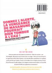 Verso de Masamune-kun's Revenge -3- Tome 3