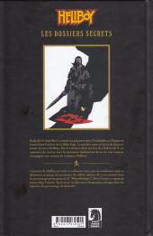 Verso de Hellboy (Les Dossiers secrets de) -2- Koshchei - Le Sans-mort