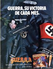 Verso de Dossier Negro -159- La maldición