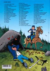 Verso de Les tuniques Bleues -13c2019- Les bleus dans la gadoue