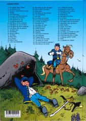 Verso de Les tuniques Bleues -21b2020- Les cinq salopards