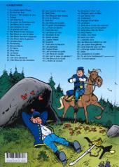 Verso de Les tuniques Bleues -22b2020- Des bleus et des dentelles