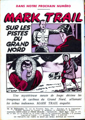 Verso de Mark Trail -9- Règlements de comptes à Camp Caribou