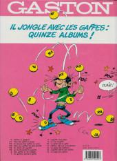 Verso de Gaston -9a1990- Le cas Lagaffe