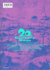 Verso de 20th Century Boys - Perfect Edition -7- Volume 7