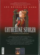 Verso de Les reines de sang - Catherine Sforza, la lionne de Lombardie -1- Volume 1