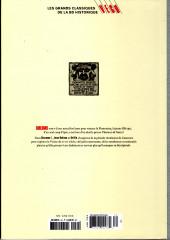 Verso de Les grands Classiques de la BD Historique Vécu - La Collection -35- Giacomo C. - Tome XII : La Fiammina