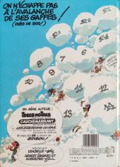 Verso de Gaston -R2b1982- Le bureau des gaffes en gros