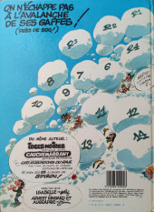 Verso de Gaston -7a1983/10- Un gaffeur sachant gaffer