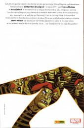 Verso de Deadpool 30 ans - 30 ans