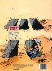Verso de Pierre Tombal -1- Les 44 premiers trous