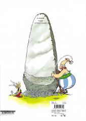 Verso de Astérix (en langues régionales) -1Mirandês- Asterix L Goulés