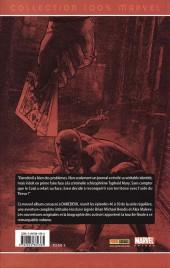 Verso de Daredevil (100% Marvel - 1999) -8- Hardcore