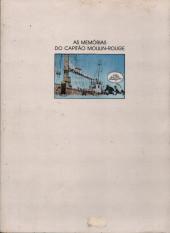 Verso de Memórias do Capitão Moulin-Rouge (As) -1- Amazónia