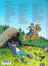 Verso de Les tuniques Bleues -4c2020- Outlaw