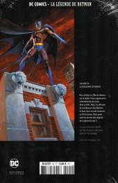 Verso de DC Comics - La légende de Batman -9494- La Naissance du démon