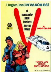 Verso de Dossier Negro -192- Yo... vampiro !