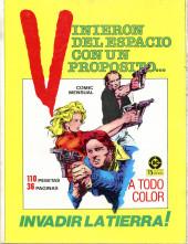 Verso de Dossier Negro -194- Historias graficas ineditas