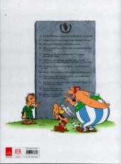 Verso de Astérix (hors série) (en portugais) -C01- Os XII trabalhos de Astérix