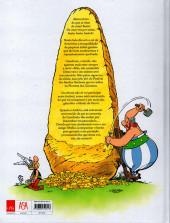 Verso de Astérix (hors série) (en portugais) - O menir de ouro