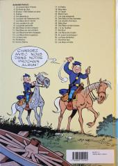Verso de Les tuniques Bleues -21a1991- Les cinq salopards