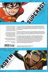 Verso de Super Sons (2017) - Super Sons Omnibus Expanded Edition