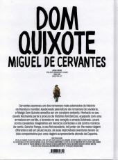Verso de Clássicos da Literatura em BD -8- Dom Quixote