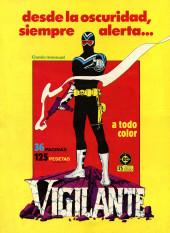 Verso de Dossier Negro -198- Número 198