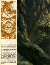 Verso de Dossier Negro -207- La cosa del pantano