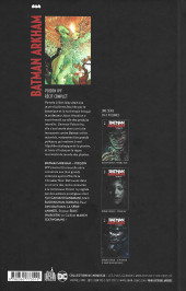 Verso de Batman Arkham -2- Poison Ivy