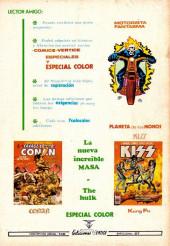 Verso de Karate Kid -3- ¡Lucha decisiva contra el comandante Blud!