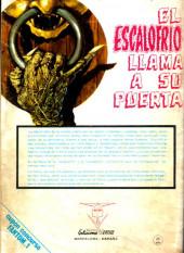 Verso de Fantom Vol.1 (Vertice - 1972) -1- ¡No me enterréis hondo!