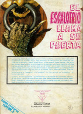 Verso de Fantom Vol.1 (Vertice - 1972) -3- El diablo de la televisión