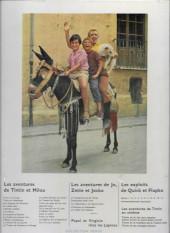 Verso de Tintin - Divers -C2a70- Tintin et les oranges bleues
