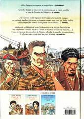 Verso de Carnets d'Orient -INT2 a2021- Carnets d'Algérie - 1954-1962