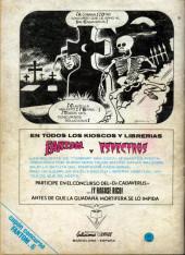 Verso de Fantom Vol.1 (Vertice - 1972) -6- La tumba del horror