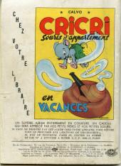Verso de Frimousse et Frimousse-Capucine -57- La gondole de verre